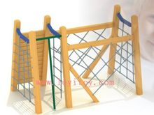 outdoor wood playset
