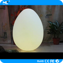 RGB Special size LED magic color egg shaped light ball for party and events
