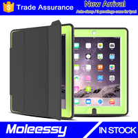 Newest and luxury smart leathe case for ipad pro with high quality pc+tpu combo cover for ipad pro
