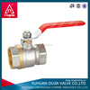 ball valve dn50 yuhuan copper ball cock valve with stainless steel long handle manufacturers