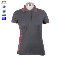 Customized pique 100% combed cotton express polo shirts