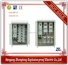 BSG series multi circuit voltage reduced starting explosion proof outdoor electrical distribution box enclosure