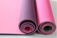 Wholesale TPE/PVC/XPE/EVA folding Yoga & Pilate mats with custom label