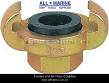 Universal Air Hose Coupling/ Coupler with hose end