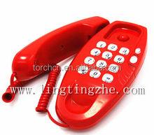 wall mounted telephone hotel single line telephone silm sip telephone slim line phone