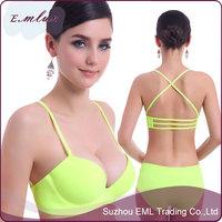 2015 Comfort sexy bra and panty new design