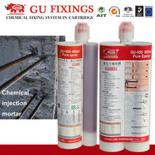 Double tubes mixing concrete chemical sealant epoxy resin