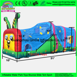 Kid and Adults Outdoor Sport Games Giant Inflatable Obstacle Course For Sale