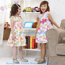 New summer design frocks custom little girls frocks cotton comfortable lovely girls frocks