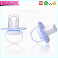 Wholesale round head cut baby niple adult pacifier