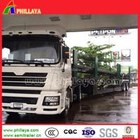 phillaya hot sale 3 axles Car carrier semi-trailer vietnam