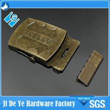 Personalized western fashion metal side release buckles