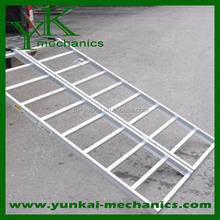 Aluminum truck loading ramps folding car ramp aluminum trailer ramp