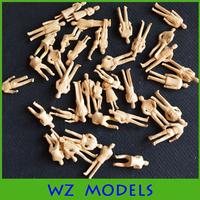 1:50 scale skin Models Figures skin color model material train figure