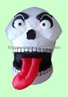 120cm Halloween inflatable skull