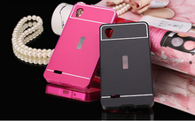 Wholesale protective metal PC mobile phone cover case for vivo y11