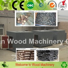No smoke High heating value big discount of charcoal carbonization furnace