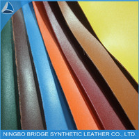 1.4mm T/C Back PU Leather for Shoes /Bags/Sofa
