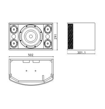 boutum audio speakers professional 10 u0026quot  ktv speaker   home