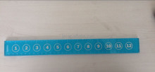 Transparent clear Inch Centimeter in CM CLEAR acrylic ruler 20CM