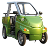 Factory price new convertible 2 seat 4 wheel mini car