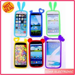 Universal silicon cellphone case,Universal Silicon Bumper Case For All Smartphone