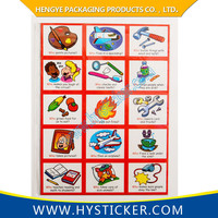 Hot Selling Magnetic Theme Baby Room Wall Stickers For Kids Learning