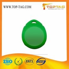 Custom printing rfid keyrings / 13.56mhz fob key RFID Branded from 3 years golden supplier make rfid keyfobs manufacturer