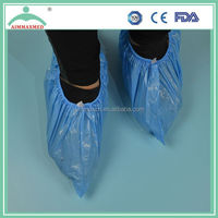 Disposable PP/ CPE/PP+PE/PE plastic shoe cover / foots wear