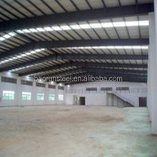 Supplier light structure roof design steel structure flat roof with EPS