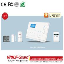 M2 Dual Network GSM+PSTN Wireless Gsm Intelligent Alarm System Manual