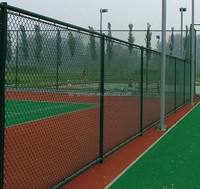 Hot Dipped Galvanized School Chain Link Fence