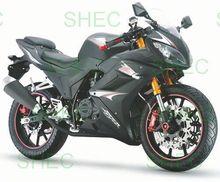 Motorcycle new motorcycle chopper sew/iron on patch biker baby skull & crossbones