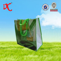 2015 promotion fashional pp woven laminated shopping bag