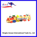 Niño wtr5972 tren de madera de tren de madera conjunto, de madera de la vía del tren thomas tren de juguete