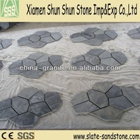 Natural Cheap Black Thin Flagstone Slate