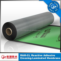 Synthetic roofing felt/self adhesive bitumen waterproof membrane/roof tile underlayment cushion