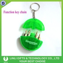 Promotion mini screwdriver keychain