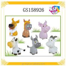 Soft Plastic Animals 5 Inch Animals For Kids