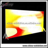 double side led light box with foldable fabric
