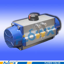 Popular discount pneumatic 2way actuator ball valve