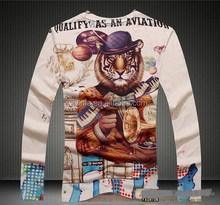 Super quality manufacture popular men t-shirt style 2015