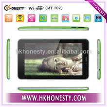 6.6inch Palm Size Colorful calling tablet with megnet case mtk8317 tablet pc