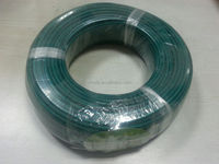 13 AWG high temperature fiberglass braiding cable with silicon insaluation