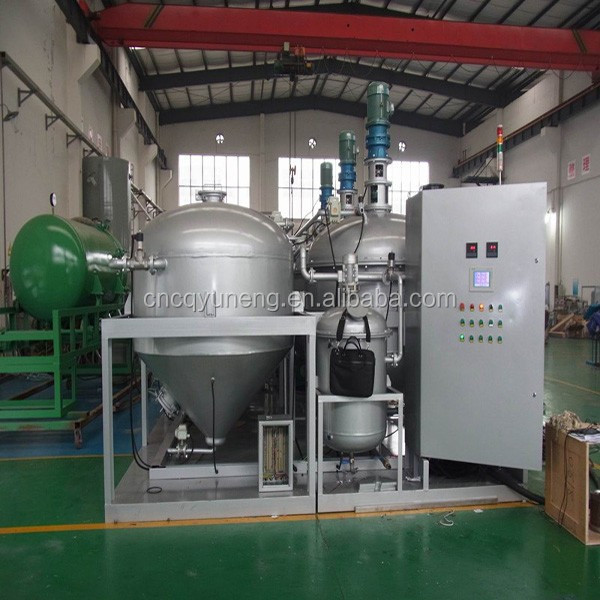 Used engine oil recycling machine waste motor oil filter for Motor oil recycling center