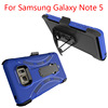 Robot Case with Kickstand and Belt Clip Holster Combo Case for Samsung Galaxy Note 5