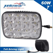 "Hot selling 7"" led light for truck head 60W 4600LM with H4 Plug"