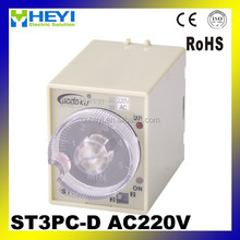 time delay relay 220v digital time relay ST3PC-D ac 220v time relays