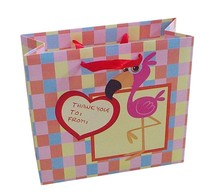 customized popular wedding decorative colorful paper gift bag