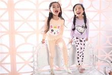 Niños ropa 2015 estilo coreano diseñe su propio pijama <span class=keywords><strong>de</strong></span> dibujos animados